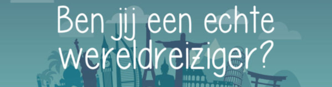 Jaarfeest 2018: wereldreizigers!